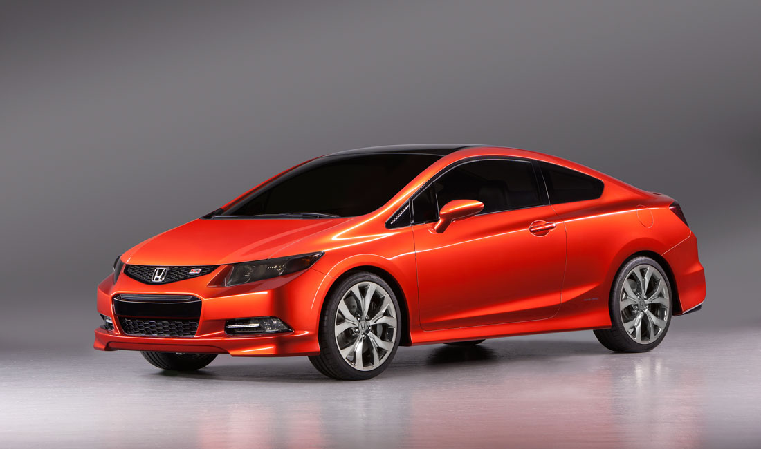 Honda Civic Si Coupe 2012 Cartype