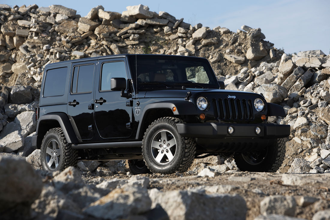 Jeep Wrangler Call of Duty Black Ops : 2011   Cartype