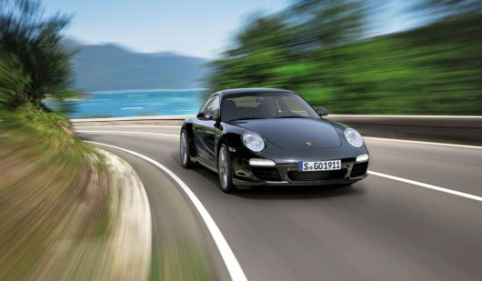 porsche 911 black edition coupe 1 12