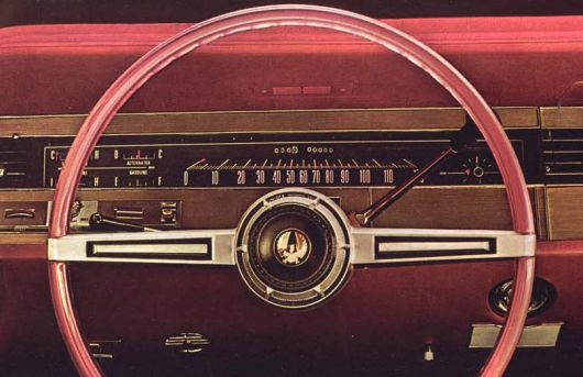 chrysler imperial gauge cluster 68