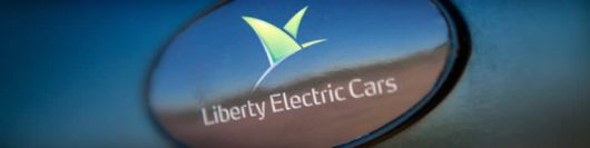 liberty electric cars emblem