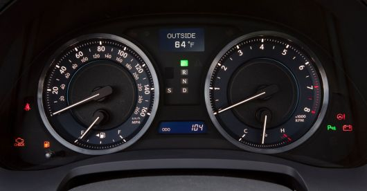 lexus is 350 gauge cluster 11