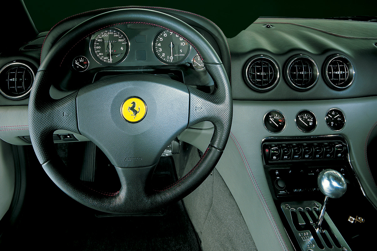 2002 456m bicolore scaglietti schumacher whips wonderful car interiors pinterest ferrari 456 ferrari and car interiors