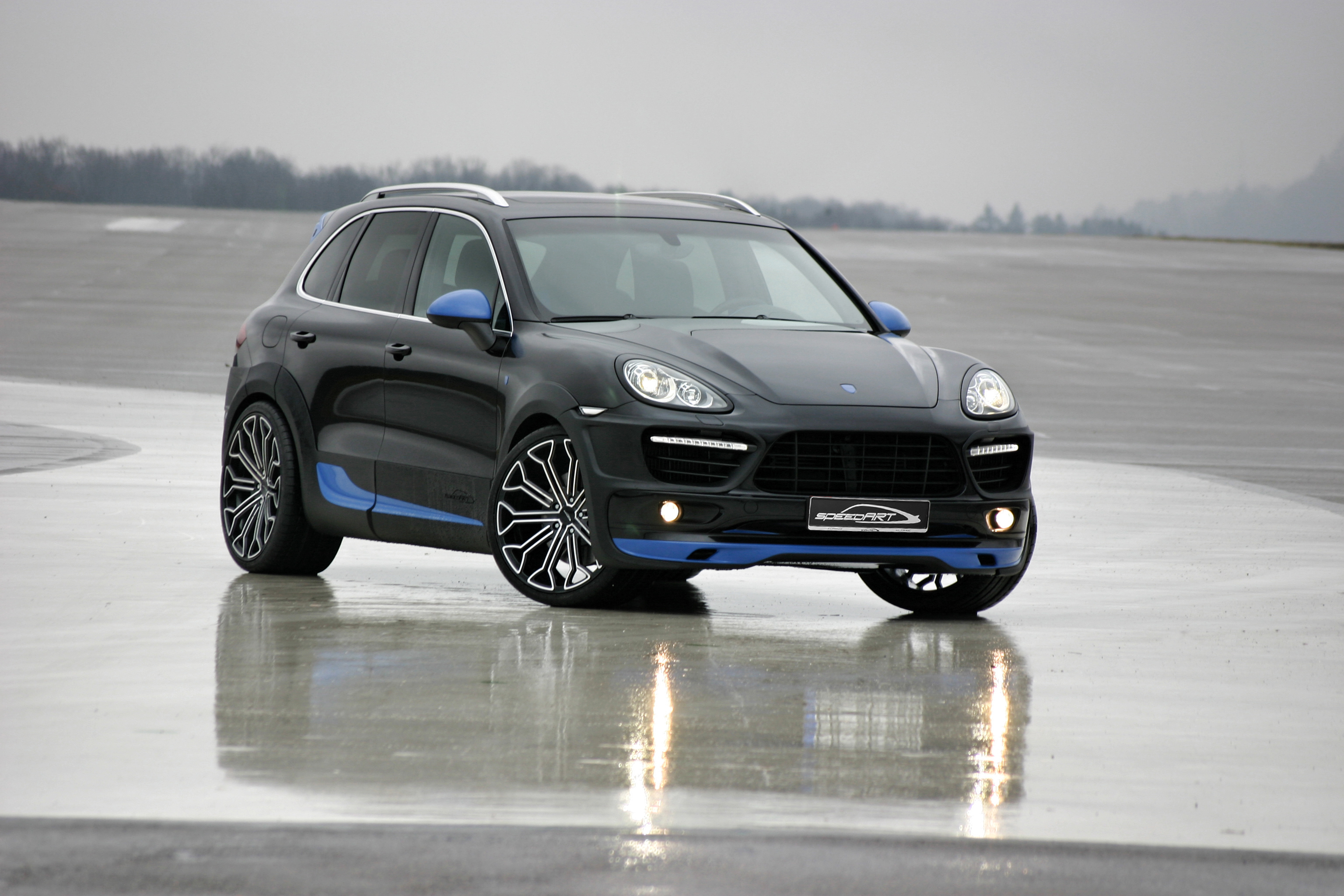 Speedart Titan Evo Xl 600 Mods For The Porsche Cayenne Turbo Cartype
