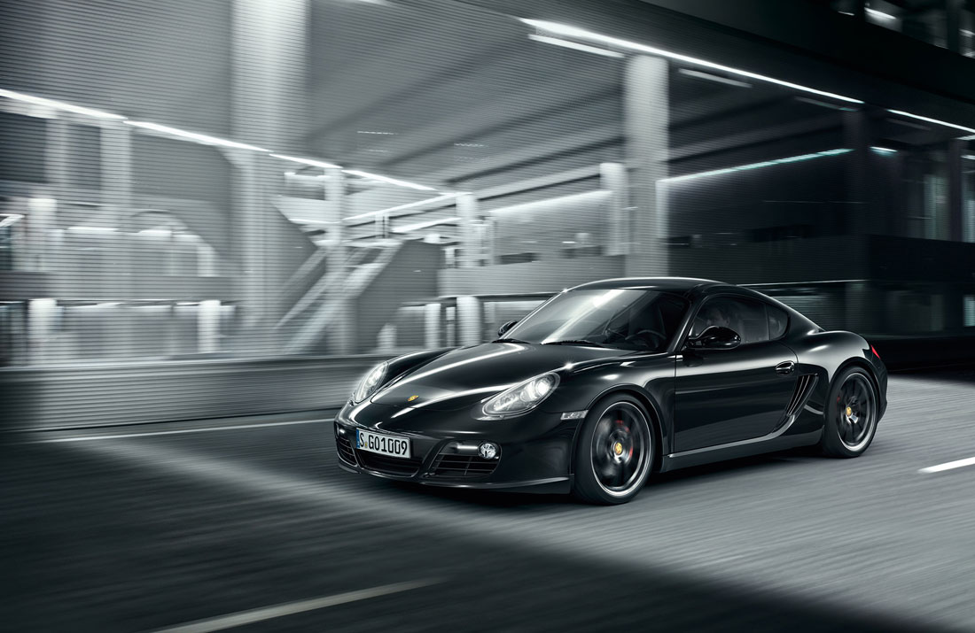 Porsche Cayman S Black Edition 2012 Cartype