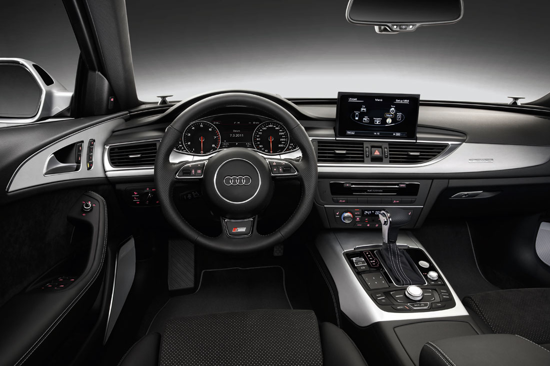 Audi a6 avant 2012 cartype for Interieur cuir audi a6