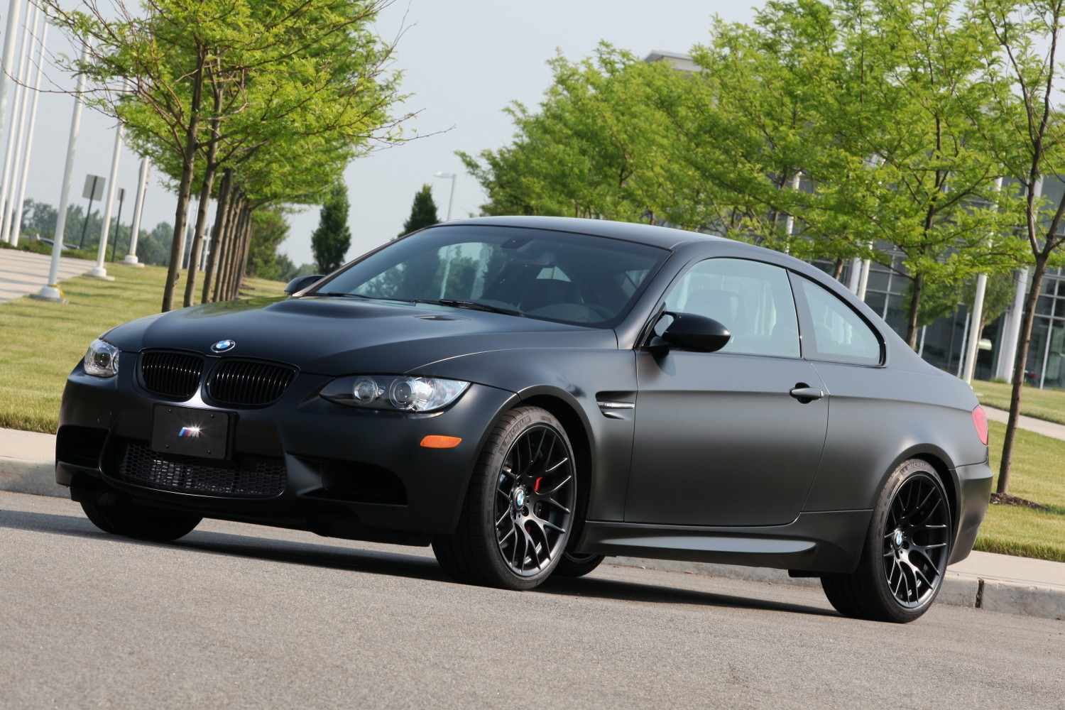 BMW Frozen Black Edition M3 Coupe : 2011 | Cartype