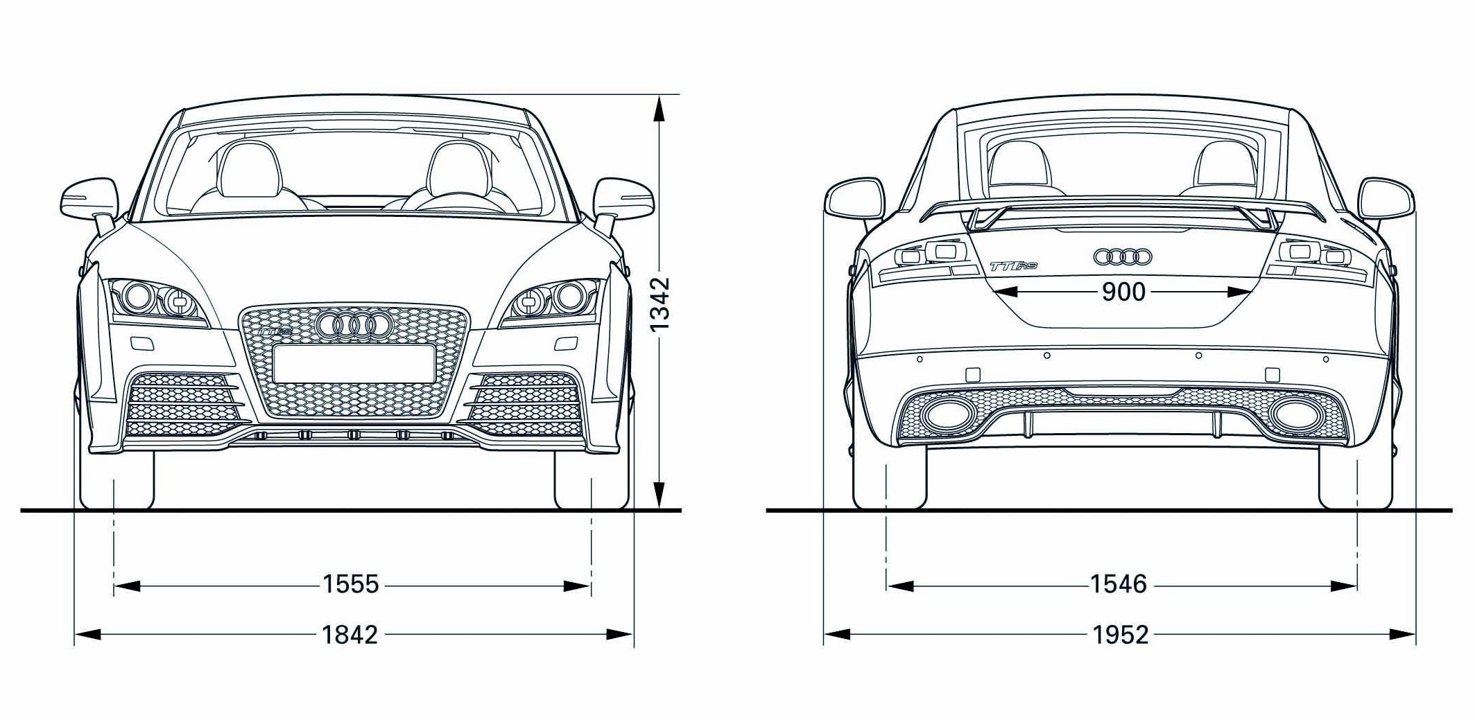 Car Line Art Cartype B7 Rs4 Fuse Box Audi Tt Rs Coupe F R 12