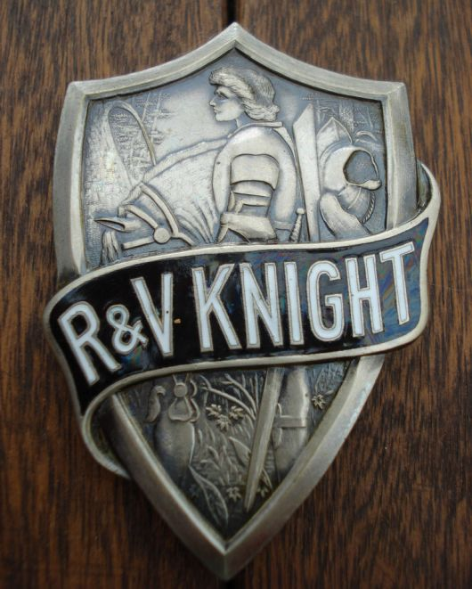 rv knight radiator emblem