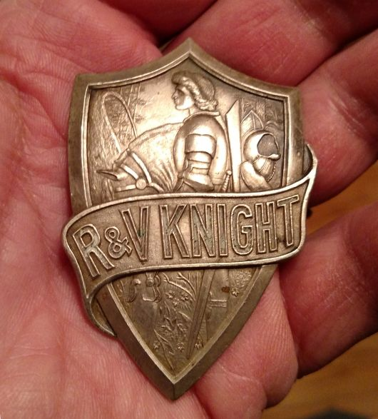 rv knight radiator emblem 2