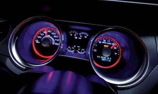ford shelby gt500 gauge cluster 12
