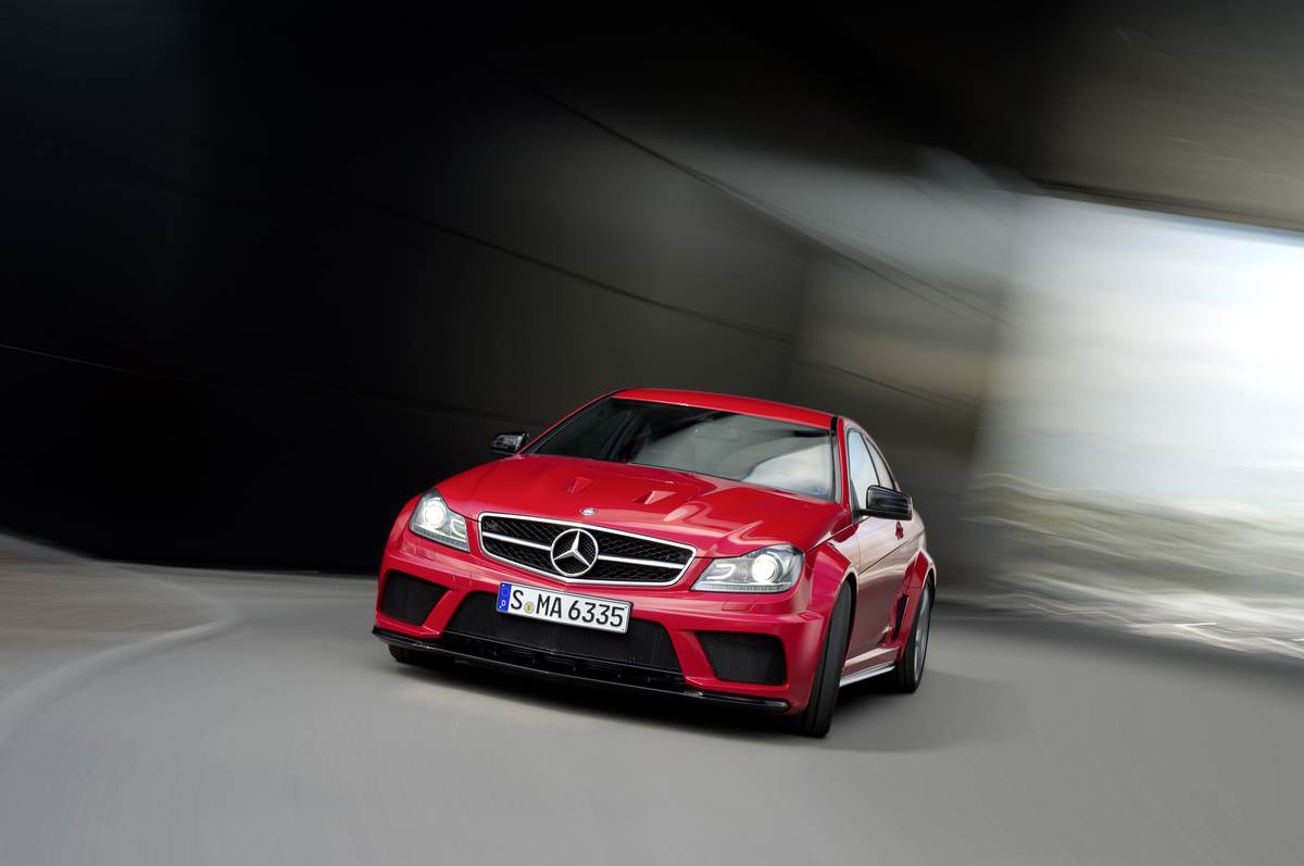 Mercedes Benz C63 Amg Coupe Black Series 2012 Cartype