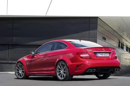 mercedes benz c63 amg coupe black series 12 05