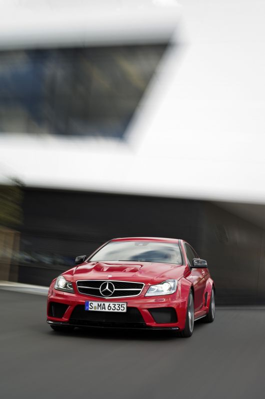 mercedes benz c63 amg coupe black series 12 06