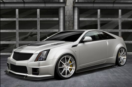 hennessey cadillac v1000 cts v coupe 1 12