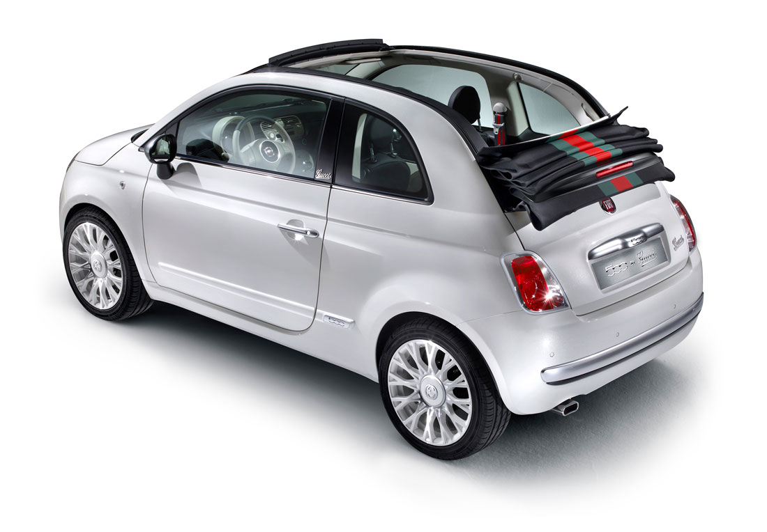 2012 Fiat 500 by Gucci.