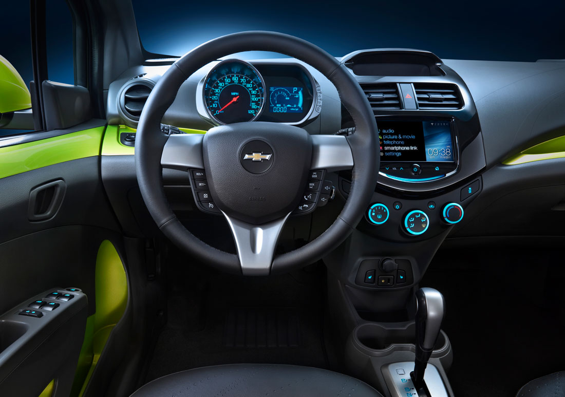2013 Chevy Spark Interior