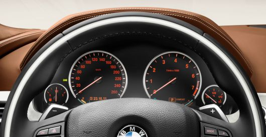 bmw 6 series gran coupe gauge cluster 13