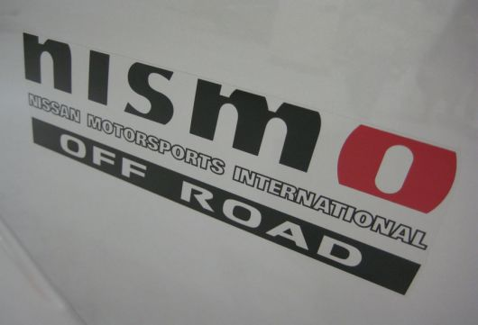nismo off road decal  sm 08