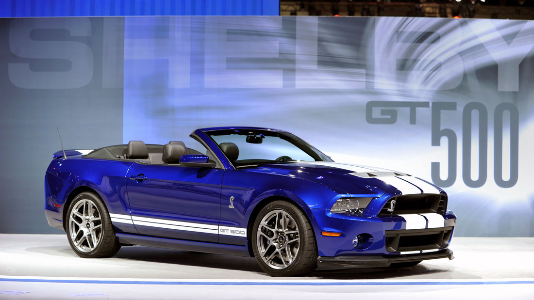 Ford Shelby Gt500 Convertible 2013 Cartype