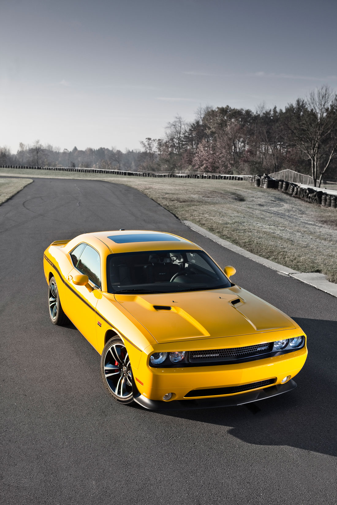 Gt Charger: Dodge Challenger SRT8® 392 Yellow Jacket : 2012