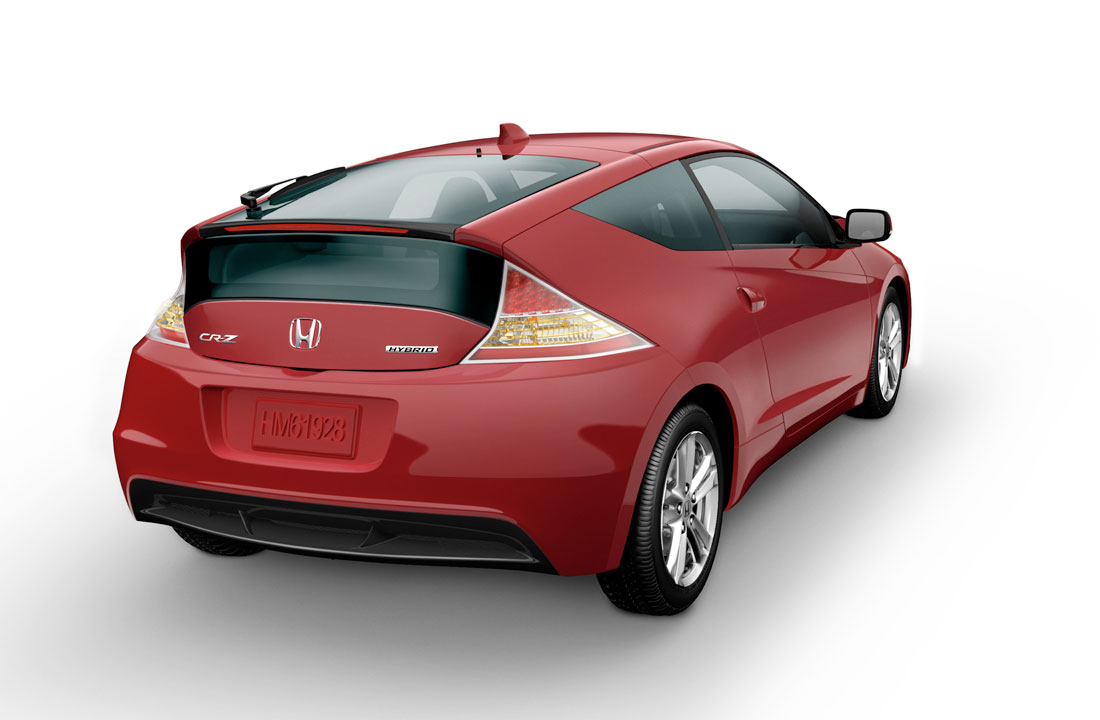 Honda Cr Z Sport Hybrid Coupe Ex 2012 Cartype Sonic 150r Racing Red Solo 12 04