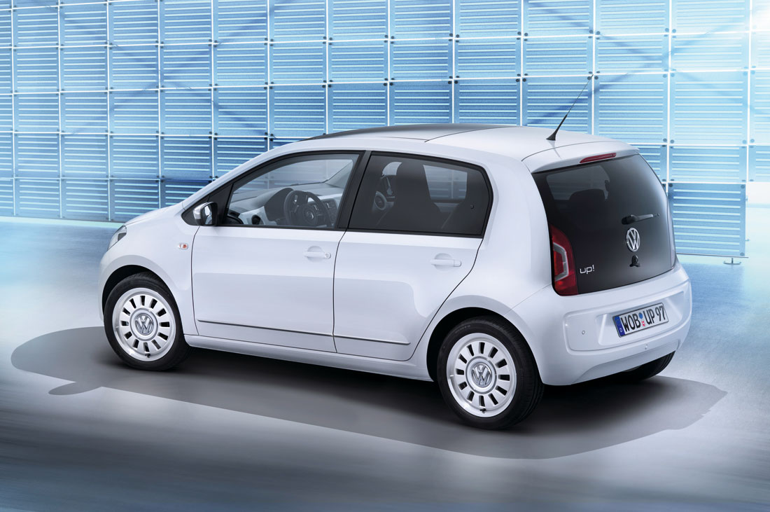 2012 Volkswagen Up! Four-Door.