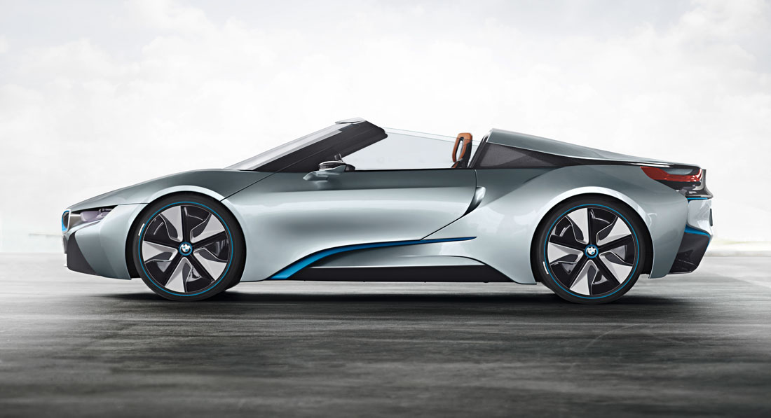 My Ardit Car Bmw I8 Concept Spyder 2012