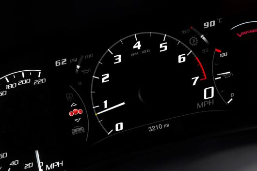dodge viper srt coupe gauge cluster 13