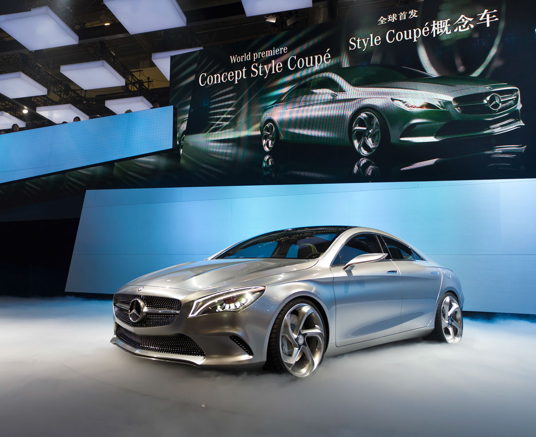 Mercedes benz concept style coup 2012 cartype for Mercedes benz style