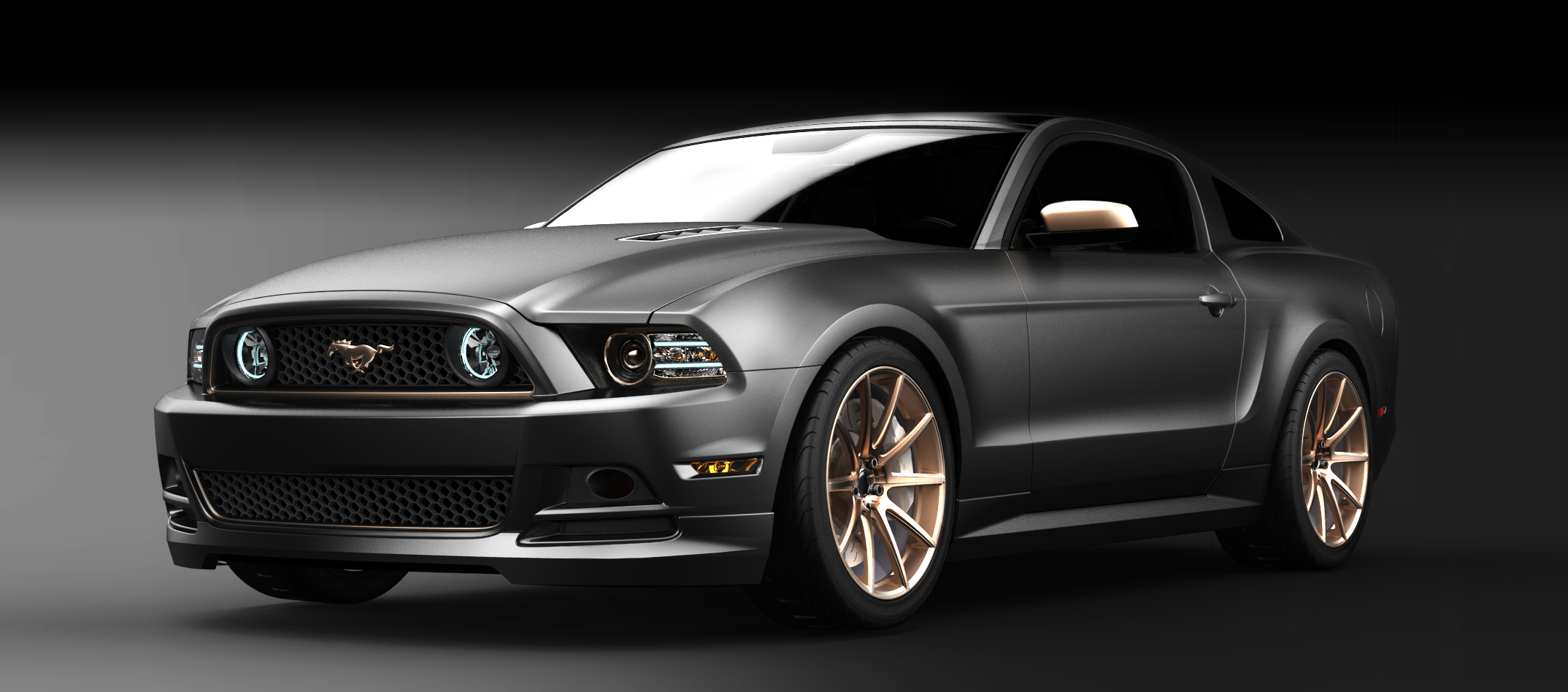 "2013 Ford Mustang ""High Gear"" concept."